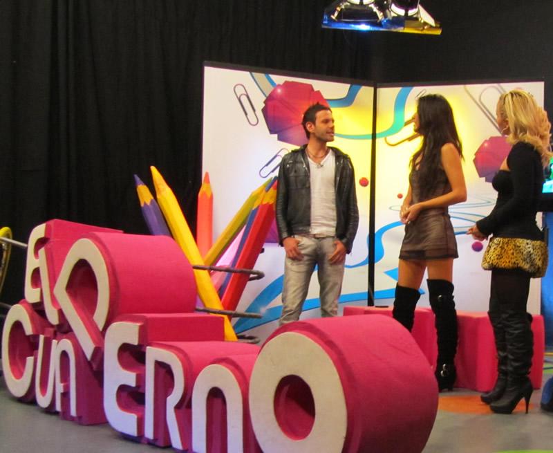 Shery en El Cuaderno, por Canal 13 Colombia